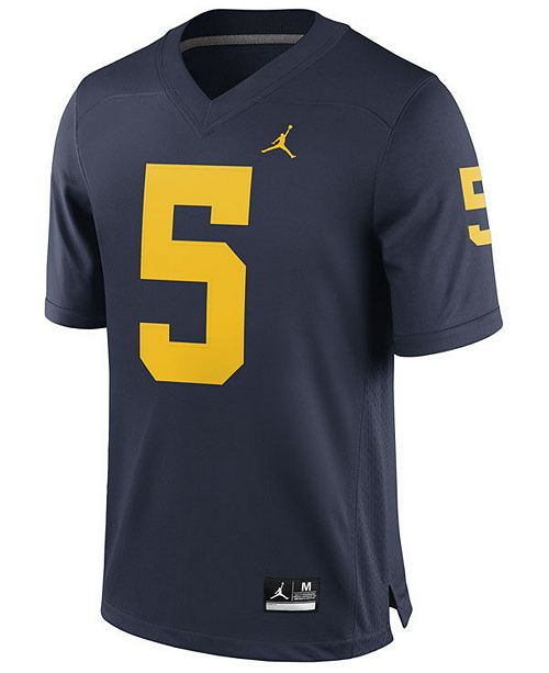 new product db734 64704 Men's Jabrill Peppers Michigan Wolverines Player Game Jersey