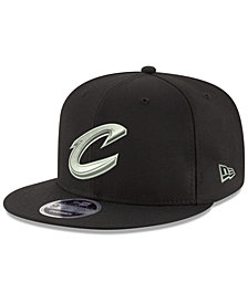 New Era Cleveland Cavaliers Black on Shine 9FIFTY Snapback Cap
