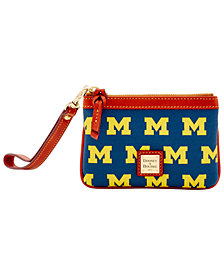 Dooney & Bourke Michigan Wolverines Exclusive Wristlet