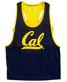 Women's California Golden Bears Mesh Tank Bralette