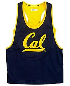 Women's California Golden Bears Mesh Tank Bralette