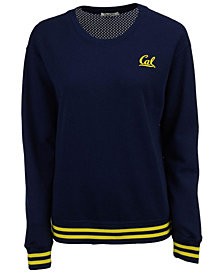 NUYU Women's California Golden Bears Mesh Back Sweatshirt