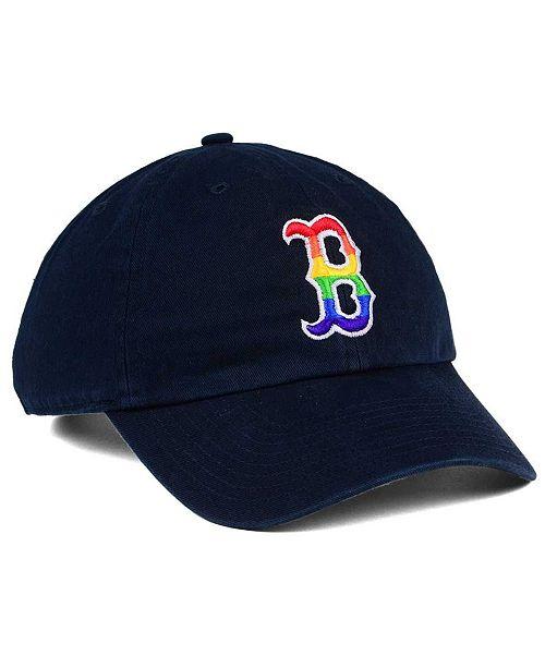 2ec690eca2c Boston Red Sox Pride CLEAN UP Cap