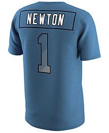 Nike Men's Cam Newton Carolina Panthers Pride Name and Number Prism T-Shirt