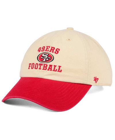 '47 Brand San Francisco 49ers Steady Two-Tone CLEAN UP Cap