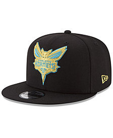New Era Charlotte Hornets Gold on Team 9FIFTY Snapback Cap