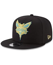 New Era Charlotte Hornets Gold on Team 9FIFTY Snapback Cap
