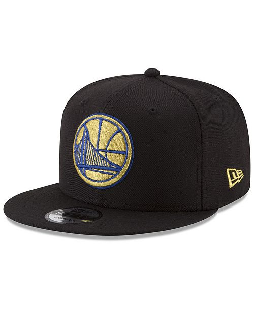 fd347fd187045e ... New Era Golden State Warriors Gold on Team 9FIFTY Snapback Cap ...