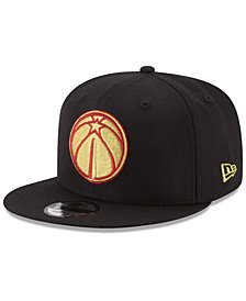New Era Washington Wizards Gold on Team 9FIFTY Snapback Cap