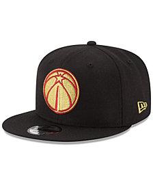 New Era Washington Wizards Gold on Team 9FIFTY Snapback Cap