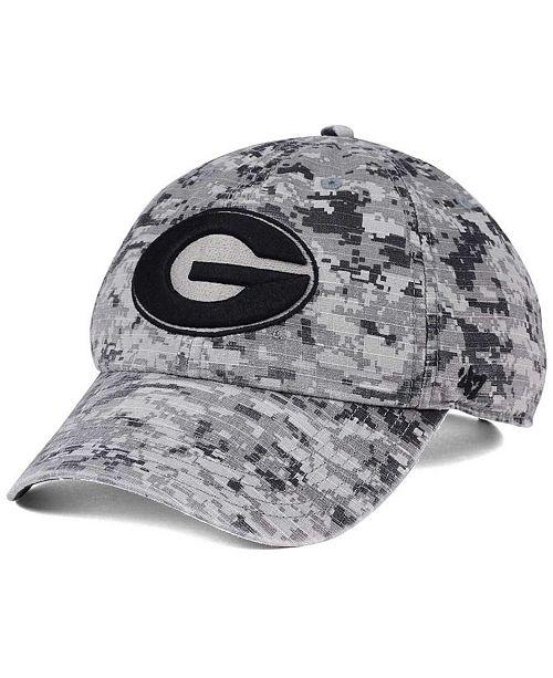 fb6696746ad ...  47 Brand Georgia Bulldogs Operation Hat Trick Camo Nilan Cap    ...