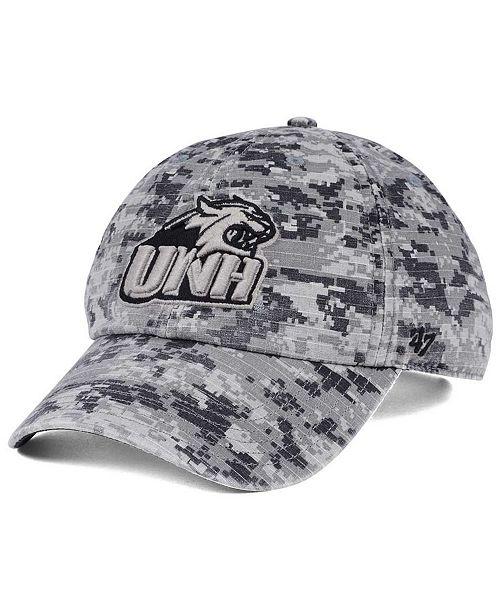 '47 Brand New Hampshire Wildcats Operation Hat Trick Camo Nilan Cap
