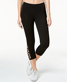 Cutout Cropped Leggings, Created for Macy's