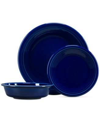 Fiesta 3-Pc. Classic Set  sc 1 st  Macyu0027s & Fiesta 4-Piece Place Setting - Dinnerware - Dining u0026 Entertaining ...