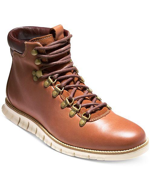 613d8a6c5f85 Cole Haan Men s Zero Grand Hiker Water-Resistant II Boots   Reviews ...