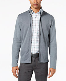 Alfani Men's Knit Full-Zip Jacket, Created for Macy's