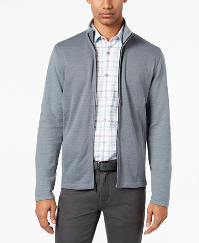 Alfani Men's Knit Full-Zip Jacket, Created for Macy's