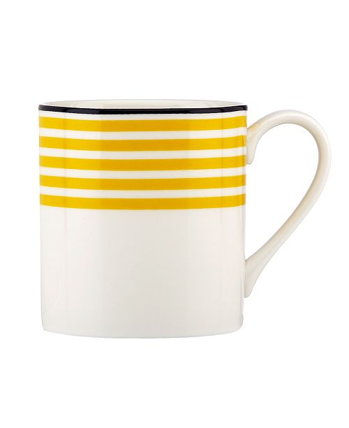 kate spade new york  Dinnerware, Sea Cliffs Stripe Mug