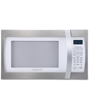 Smart Sensor technology eliminates the guesswork with this Faberware Professional microwave, a roomy 1.3-cubic foot oven with 10 power settings and multi-stage cooking that puts you in control.