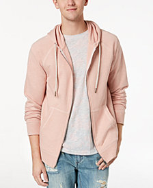American Rag Men's Pink Textured Hoodie, Created for Macy's