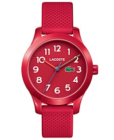 Kids' 12.12 Red Silicone Strap Watch 32mm