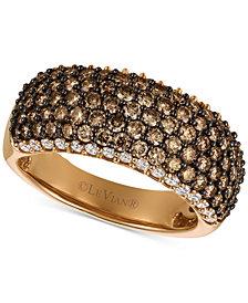 Le Vian Chocolatier® Diamond Pavé Band (1-3/4 ct. t.w.) in 14k Rose Gold
