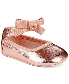 Baby Rose Bow Shoes, Baby Girls