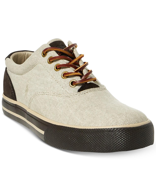 Polo Ralph Lauren Men's Vaughn Sneakers (Natural)