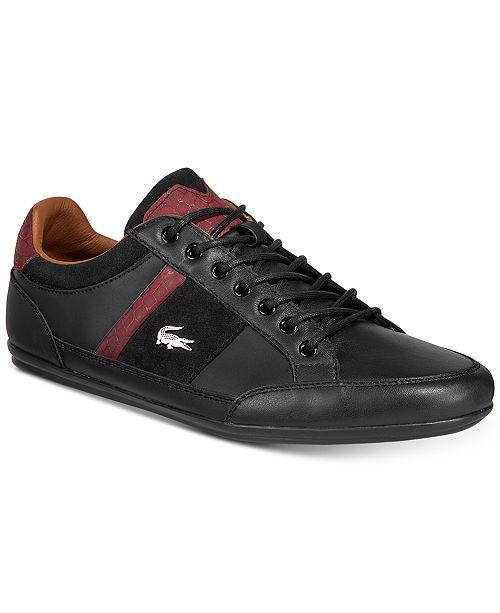 09ee835f914e Lacoste Men s Chaymon Sneakers   Reviews - All Men s Shoes - Men ...