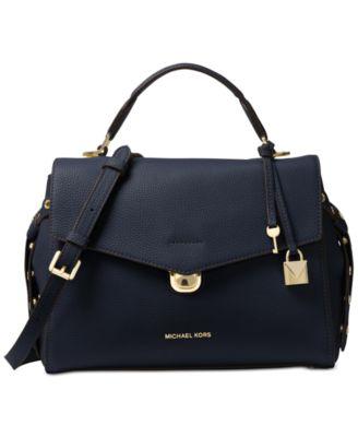 michael kors bristol medium top handle satchel handbags rh macys com