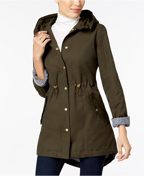 d3d16e16aa59d Style & Co High-Low Utility Jacket, Created for Macy's & Reviews ...