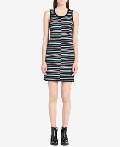 Calvin Klein Jeans Striped Sweater Dress