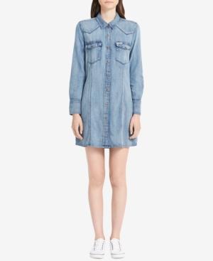 Calvin Klein Jeans Est.1978  JAIME COTTON DENIM SHIRTDRESS
