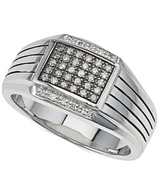 Diamond Ring (1/4 ct. t.w.) in Sterling Silver, Created for Macy's