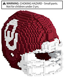Forever Collectibles Oklahoma Sooners BRXLZ 3D Helmet Puzzle