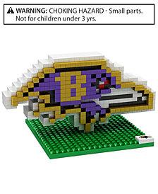 Forever Collectibles Baltimore Ravens BRXLZ 3D Logo Puzzle