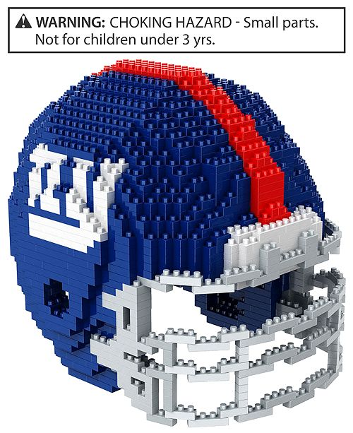 Forever Collectibles New York Giants BRXLZ 3D Helmet Puzzle