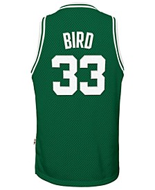 Larry Bird Boston Celtics Retired Player Swingman Jersey, Big Boys (8-20)