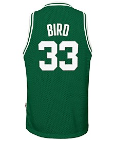 adidas Larry Bird Boston Celtics Retired Player Swingman Jersey, Big Boys (8-20)