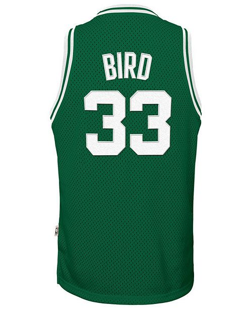 quality design f715b 07f6f Larry Bird Boston Celtics Retired Player Swingman Jersey, Big Boys (8-20)