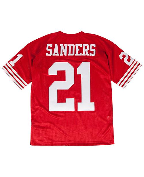 lowest price 6a3f5 81f46 Mitchell & Ness Men's Deion Sanders San Francisco 49ers ...