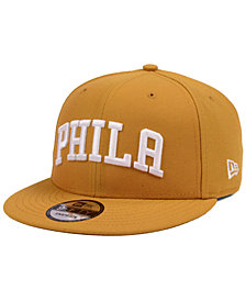 New Era Philadelphia 76ers Fall Dubs 9FIFTY Snapback Cap
