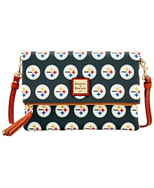 Dooney & Bourke Pittsburgh Steelers Foldover Crossbody Purse