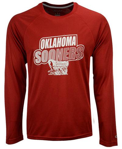 Champion Men's Oklahoma Sooners Practice Squad Long Sleeve T-Shirt