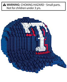 Forever Collectibles Texas Rangers BRXLZ 3D Baseball Cap Puzzle