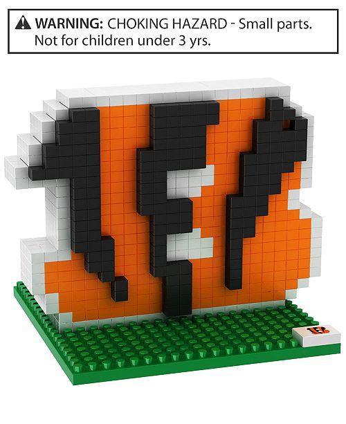 Forever Collectibles Cincinnati Bengals BRXLZ 3D Logo Puzzle