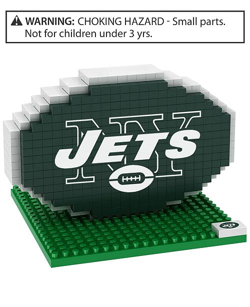 Forever Collectibles New York Jets BRXLZ 3D Logo Puzzle
