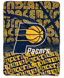 Northwest Company Indiana Pacers Micro Raschel Redux Blanket