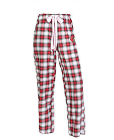 Concepts Sport Women's Louisville Cardinals Forge Flannel Pants