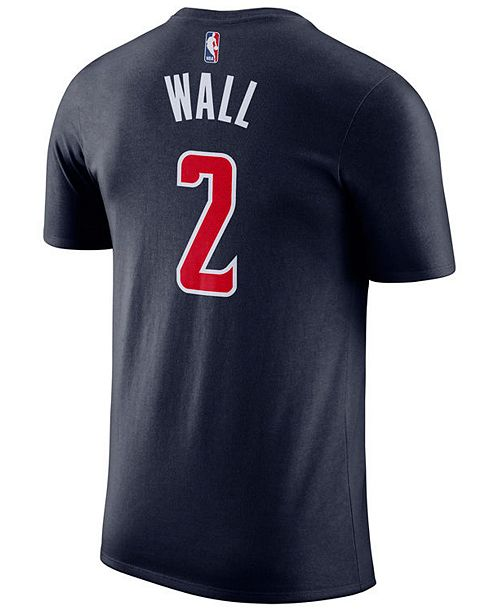 pretty nice 1e4dc 49b01 Men's John Wall Washington Wizards Name & Number Player T-Shirt